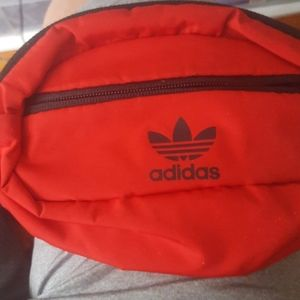 Adida cross body bag red